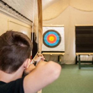 Archery and Rifle Shooting at Peter Ashley Activity Centres