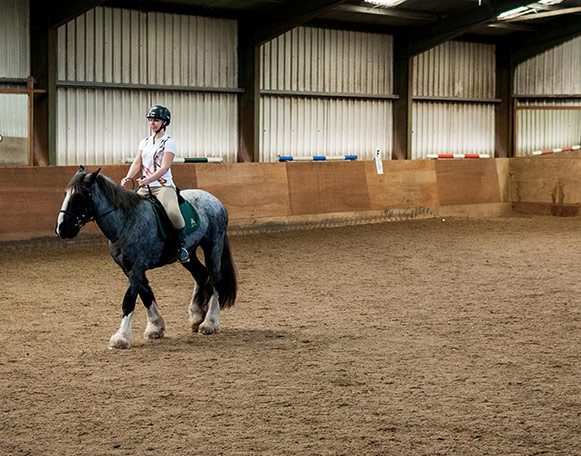 School Hire At Fort Widley Equestrian Centre 40m X 20m